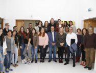 Turismo Lanzarote imparte una jornada de formación al grupo de alumnos de la Escuela Universitaria de Turismo de Lanzarote que viajará a la ITB de Berlín
