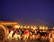 Esta noche el Castillo San Gabriel acogerá la Observación Astronómica 'Géminis y la luna'