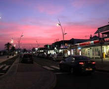 Tías apagará este sábado el alumbrado de  la Avenida de Puerto del Carmen durante una hora para sensibilizar sobre el  'cambio climático'