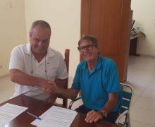 La UD Lanzarote firma un acuerdo de colaboración con el UDP Costa Teguise