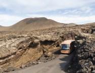 Los Centros impulsan una guagua eficiente y sostenible en la Ruta de los Volcanes y harán de Lanzarote una isla referente en movilidad ecológica
