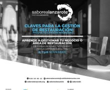 'Claves para la gestión de la restauración: producto, carta, rentabilidad', nuevo curso organizado por Saborea Lanzarote y Cabildo para profesionales en activo