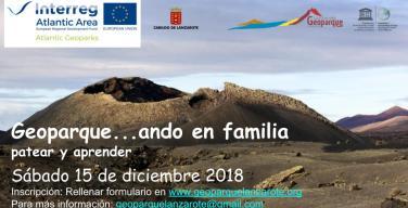 Geoparque…ando invita a descubrir el volcán del Cuervo