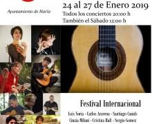 Vuelve el Festival Internacional 'Guitarras en Haría' con un cartel de primer nivel