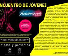 """I Encuentro de jóvenes """"Transformarte"""" San Bartolomé, el 15 de febrero de 19.00 a 22.00 horas en el Centro Deportivo de Playa Honda"""