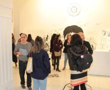 Buena acogida de la exposición Caídas, de Raquel Plans en el CIC El Almacén