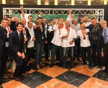 El Cabildo de Lanzarote felicita a los Restaurantes 'La Cascada del Puerto' y 'El Risco' por los dos títulos obtenidos este año en los premios anuales 'Top10 Qué bueno Canarias Heineken®'