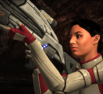 Ashley Williams in Mass Effect 1