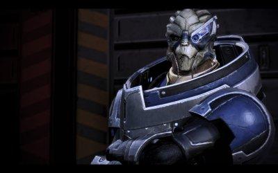 Garrus Vakarian in Mass Effect 3