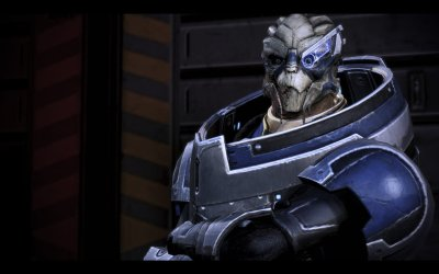 Garrus Vakarian in Mass Effect 3