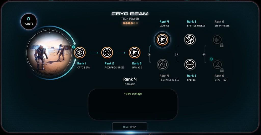 Mass Effect Andromeda Muliplayer Skilltree