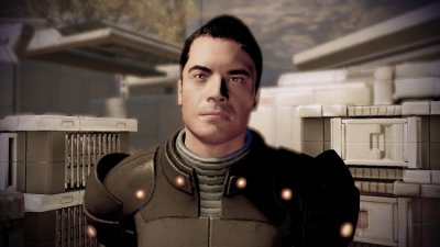 Kaidan Alenko in Mass Effect 2 auf Horizon