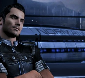 Kaidan Alenko in Mass Effect 3