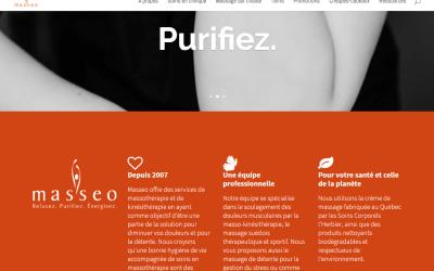 Masseo a son nouveau site web!
