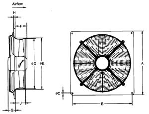 Massey Coldbeck  Ziehl Abegg Plate Axial Fan Range