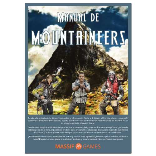 MOUNTAINEERS: A 3D Mountain Game by Massif Games