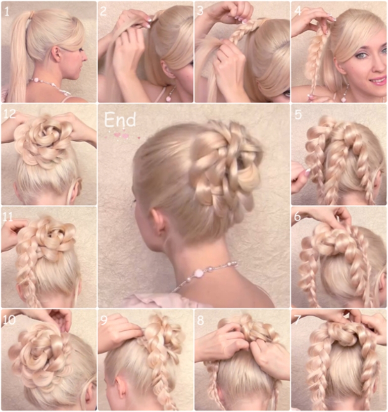 easy-updo-hairstyle-by-clip-on-cheap-remy-human-hair-extension