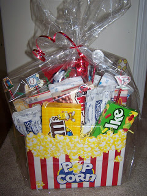 Pop corn basket bag