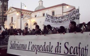 Ospedale Scafati-manifestazione