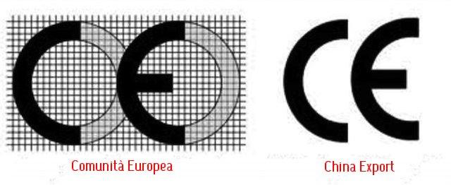 Comprare dalla Cina: il marchio CE....c'è?