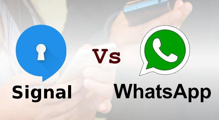 Signal vs WhatsApp