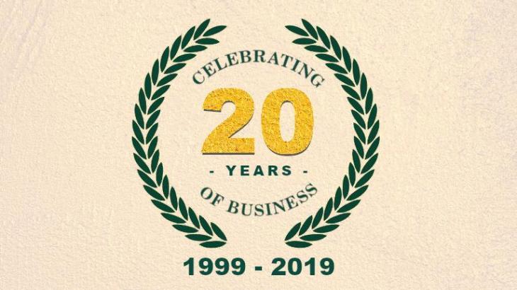 Celebrazione dei 20 anni di attività professionale