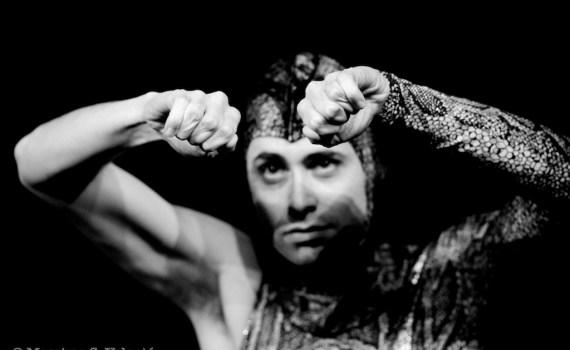 Robin Scheller, L'Uomo Serpente, Fotografo di scena MIlano