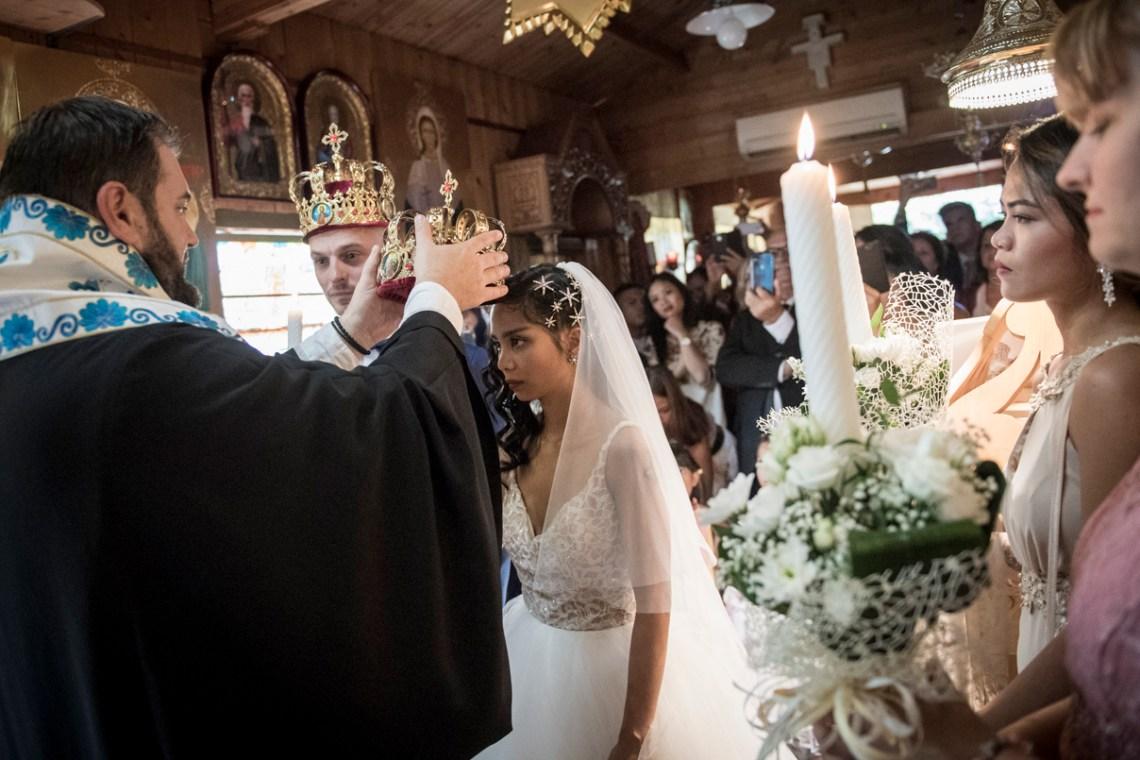 """Il momento della """"Incoronazione"""" della Sposa nel Matrimonio cristiano ortodosso"""