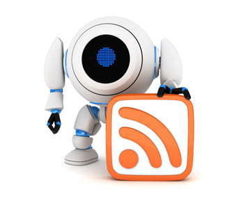 content marketing rss bot