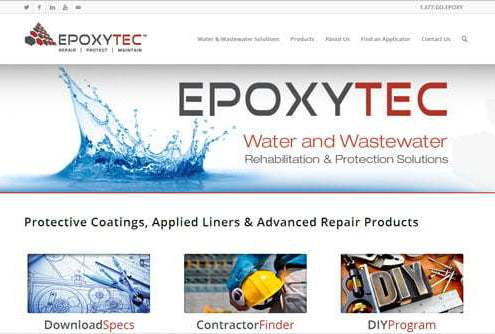 materials manufacturer website