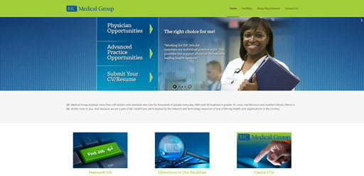 healthcare staffing site