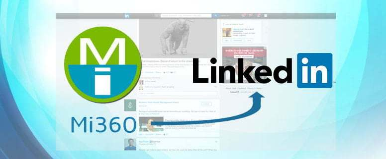 Mi360 Posts to LinkedIn Company Pages