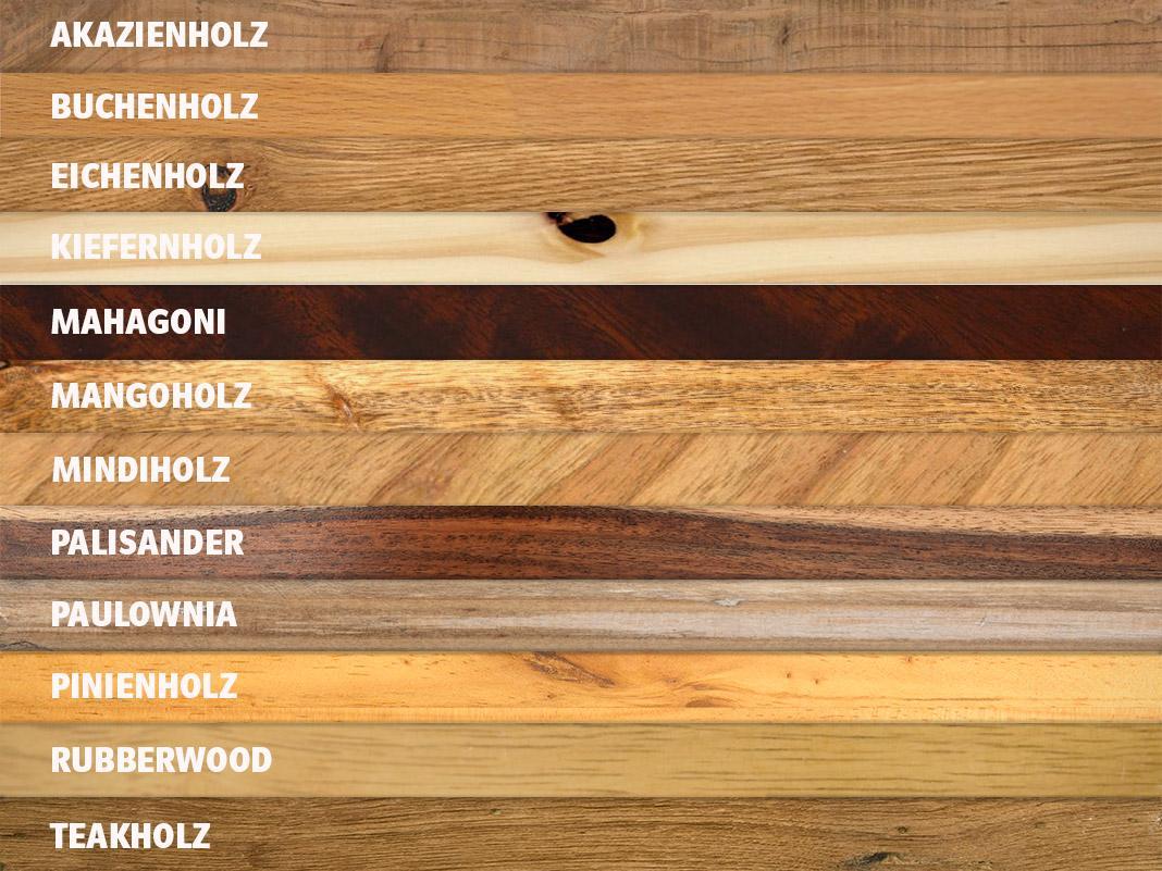 Holzmobel In Harmonierenden Holzarten Kombinieren