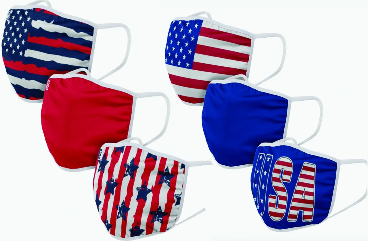 Usa Face Masks American Flag Facial Coverings For Coronavirus Safety This July 4th Masslive Com