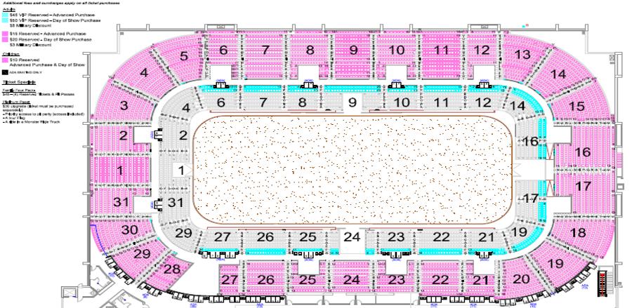 Springfield Massmutual Center Seating Chart