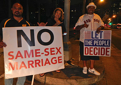 """How activists can stop the """"gay marriage"""" steamroller"""