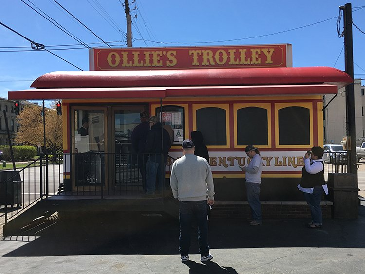 Ollie's Trolley&Lums餐厅的历史