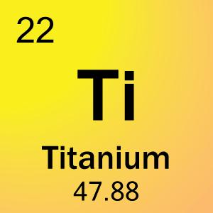 Titanium (Ti) - Pengertian, Sifat dan Senyawa