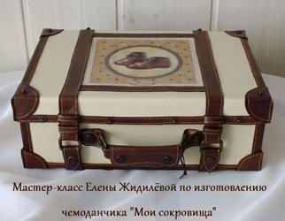 Paano gumawa ng kahon ng kahon ng sapatos sa anyo ng isang maleta
