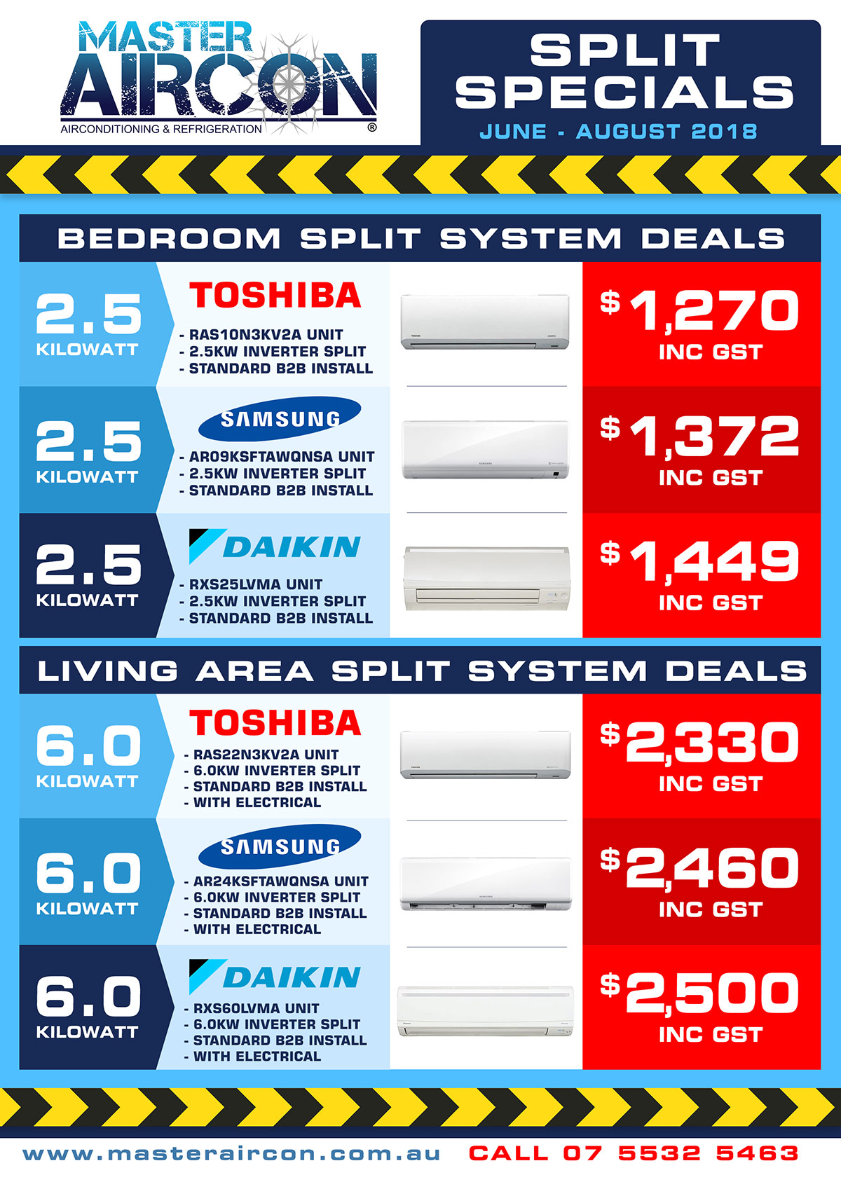 Air Conditioning Aircon Specials