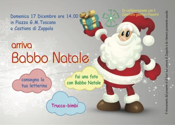 Invito al Babbo Natale in Piazza