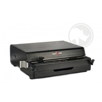 The Rhin-O-Tuff® ONYX 4000PLUS is a heavy duty electric book binding puncher that is designed to punch a variety of hole patterns for multiple binding methods.