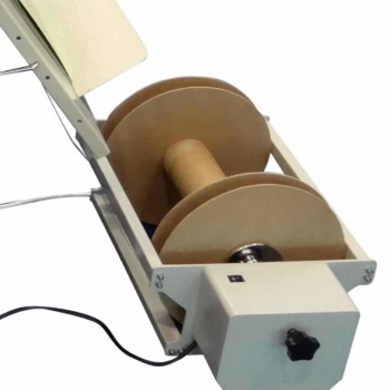 Masterbind USA's Laminator paper trimmer unit back end rewind-unit attachment
