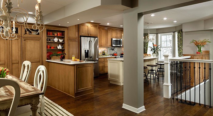 Rachael Ray Kitchen Remodel Features Maple Cabinetry