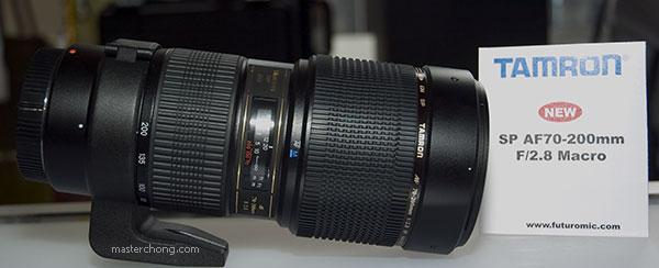 Tamron SP AF70-200MM F/2.8 DI LD (IF) MACRO.