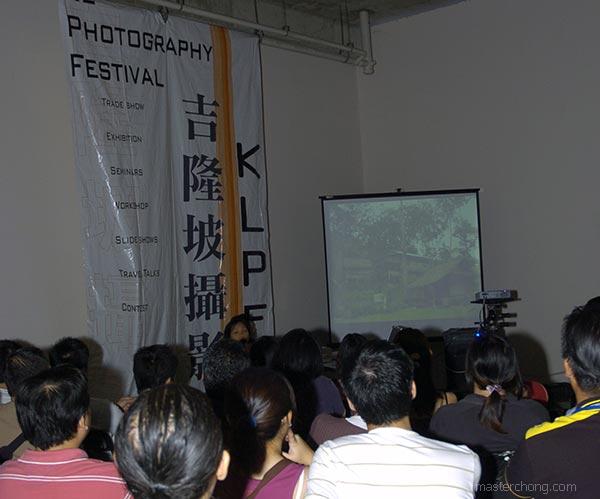 KLPF 2007: During a talk