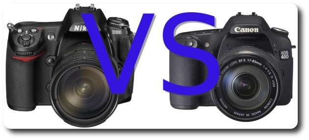 Nikon D300 vs Canon 40D