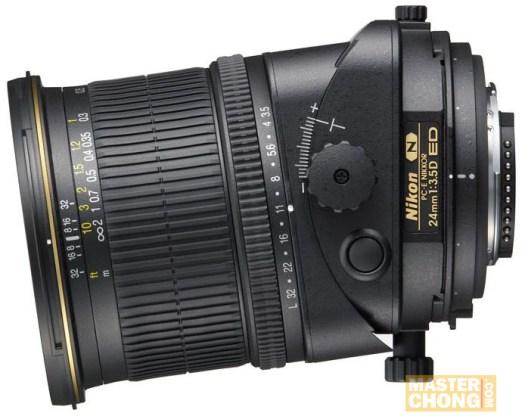 Nikon PC-E Nikkor 24mm f/3.5D ED tilt / shift lens