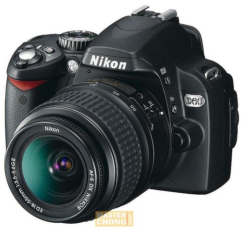 Nikon D60 Front
