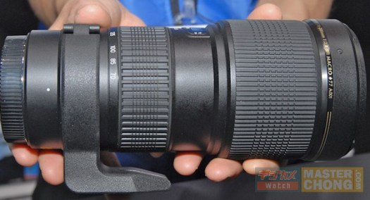 PIE2008: Tamron Sp 70-200 mm F2.8 Di A001 Teaser